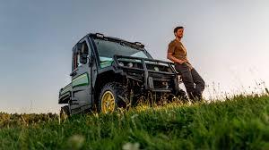 new john deere gator utility vehicle at saltex 2017