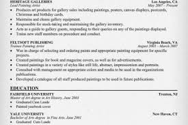 Sample Painter Resume by Painter Resumes Sample Resume Professional Work Experience