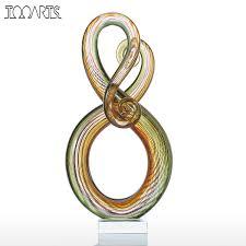 Animal Figurines Home Decor Online Get Cheap Glass Animal Ornaments Aliexpress Com Alibaba