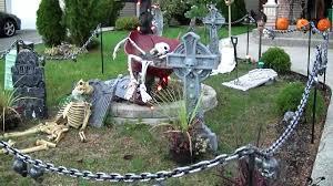 scary halloween outdoor decorations diy halloween outdoor