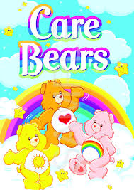 care bear poster a3 size quality print photographic