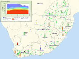 Africas Map by Who Is Using All The Water In South Africa