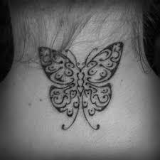 butterfly on neck by ravenwarlock on deviantart
