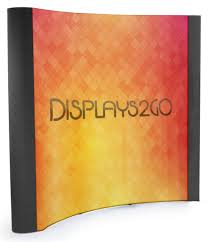8 u0027 coyote popup trade show banner backdrop with custom graphics 8 u0027 coyote popup trade show banner backdrop with custom graphics u0026 end caps black