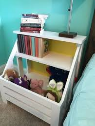 Diy Plans Toy Box by Diy Toy Box Bookshelf I Plan To Recreate This Using Pallet Wood