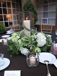 wedding candle centerpieces green white wedding candle centerpiece williamsburg floral