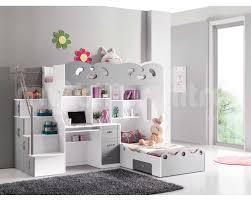 lit superposé avec bureau pas cher chambre avec lit mezzanine 2 places galerie et lit mezzanine sacha