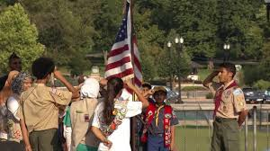 Ceremony Flag March On America Flag Ceremony Youtube
