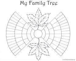 free family tree forms to print birthday decoration