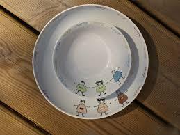 porcelaine peinte main sur le chemin de l u0027école les trésors de sophie le blog de la