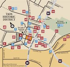 Unm Campus Map Taos Historic District Discover Taos