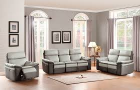 Top Grain Leather Living Room Set by Homelegance 8315 Coppins Reclining Leather Living Room Set