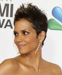 short hairstyles for black women spiked on top small curls in back and sides of hair spiked haircuts for women archives hairstyles weekly