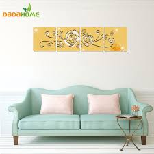 popular acrylic wall decor buy cheap acrylic wall decor lots from home decor rose 3d large flowers wall sticker acrylic mirrored decorative sticker miroir mural wall decal