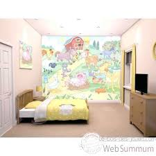 fresque chambre fille fresque murale chambre fille peinture mur chambre bebe fille fresque