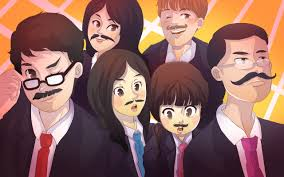 japanese mustache history why japan hates hair