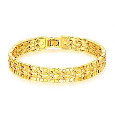 opk jewelry luxury gold plated s bracelets chain