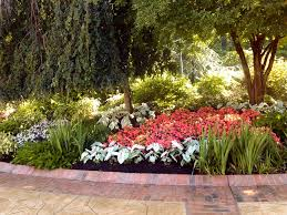 landscape contractors of annapolis flower bed with brick border