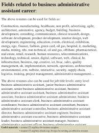 Administrative Assistant Resume Samples by Top 8 Business Administrative Assistant Resume Samples