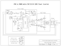 component inverter schematic diagram watt pwm circuit electronics