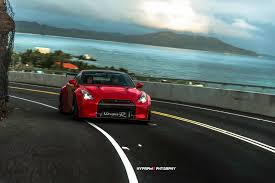 nissan gtr roman atwood godzilla goes back to hawaii in latest gt r photoshoot