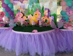 Table Buffet Decorations by Custom Tutu Table Skirt Candy Buffet Centerpiece Dessert Table