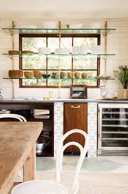 styling open shelves in your kitchen alice lane