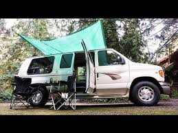 Small Campervan Awnings Van Life Cheap U0026 Easy Campervan Awning Youtube