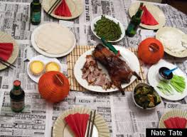 peking duck a feast for thanksgiving huffpost
