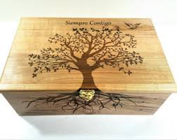 engraved memory box large memory box etsy