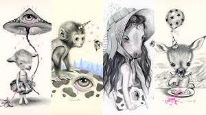 whimsical animals patreon reward sketches drawing time lapse