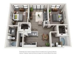 3d Office Floor Plan by Carter Haston 3d Floor Plans Resident360