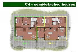 house plans with 2 separate garages house plans for 2 bedroom semi detached cottages szukaj w google