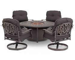 Fire Pit Tables And Chairs Sets - geneva fire pit table furniture row