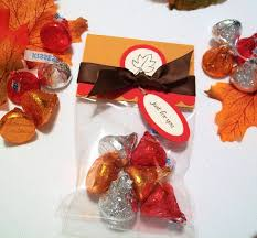 edible thanksgiving decorations autumn harvest treat bags and toppers set of 12 thanksgiving