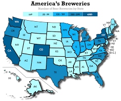 Portland Brewery Map by Where Is Craft Beer Most Popular In America Datafiniti
