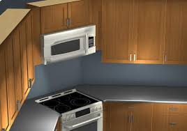 Kitchen Corner Furniture Common Kitchen Design Mistakes Corner Stove And Microwave Alignment