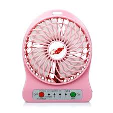 Cool Desk Fan Desk Pink Desk Top Fan Pink Desk Fan Retro Usb Mini Portable