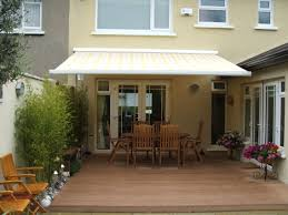 Exterior Awnings Patio Aluminum Patio Awnings For Home With Brown Fence Design And