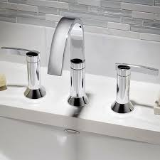 faucets for bathroom berwick widespread faucet lever handles american standard