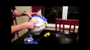 how to make a piñata strong enough to hold 12lbs of candy youtube