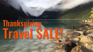 deal alert thanksgiving travel sale up to 50 the voyage report