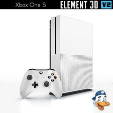 Video One 3d Xbox One S For Element 3d Cgtrader