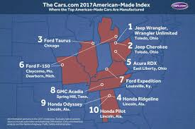 where are mazda cars made jeep wrangler is the most american vehicle cars com claims roadshow