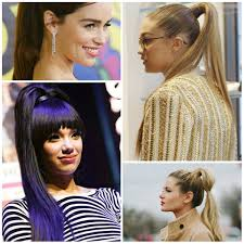 ponytail hairstyles u2013 haircuts and hairstyles for 2017 hair colors