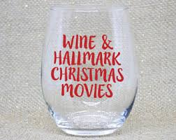 wine glass etsy
