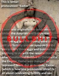 Pagan Easter Meme - easter myths