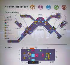 seattle airport terminal map map of seattle tacoma airport wiring free printable images
