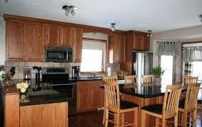 Honey Oak Kitchen Cabinets Honey Oak Kitchen Cabinets With Granite Countertops Kutsko Kitchen