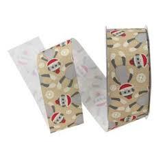 monkey ribbon ribbon options peace dog